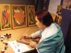 icon painting holiday breaks italy