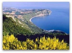 Sirolo conero riviera adriatic coast Italy
