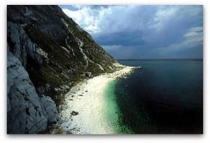 Sirolo riviera del Conero Italy