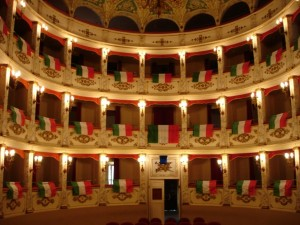 teatro di Treia macerata le marche italia